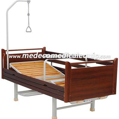 Home Medical Equipment Wooden Manual Hospital Adjustable Bed ME10