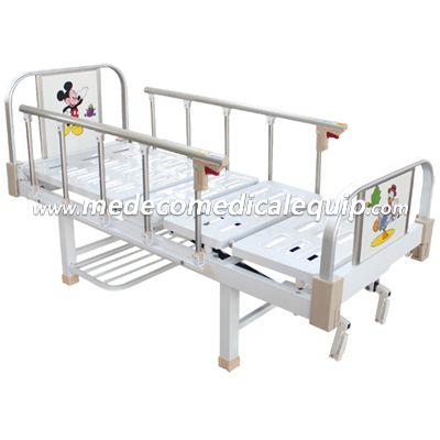 Hospital Baby Bed With Backrest Adjustment MEX04