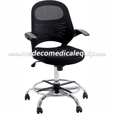 High Backrest Office Chair With Steel Pedal And Base MEE704
