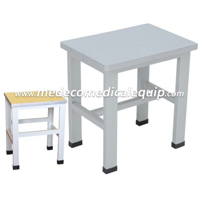 Metal Small Square Stool MEE019