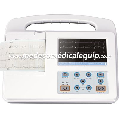 5.1 Inch LCD Display Digital ECG System ME2303G