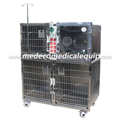 Veterinary Animal Hospital oxygen cabin Pet cage power version MEdy-01