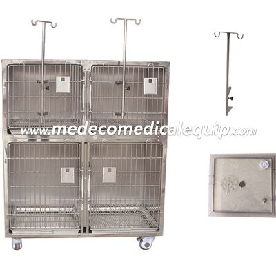 Combined stainless steel foster care (hospital) cage MEjy-01