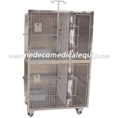 Medeco Veterinary Pet Products 304 Stainless Steel Animal House MEl01