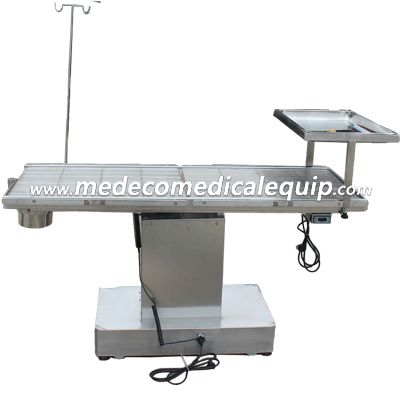 Pet Hospital Stainless Steel Veterinary Surgical Operation Table ME-06