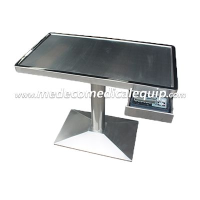 MEDECO Animal Medical Equipment Stainless Steel Multifunctional electric lift table with scale ME31
