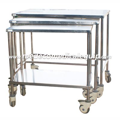 Stainless Steel Medicine Transport Moving Trolley ME006-102