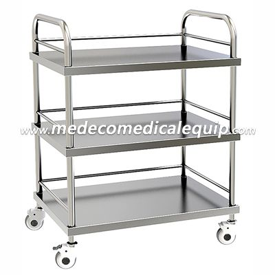 Stainless Steel Hospital Treatment Trolley ME004