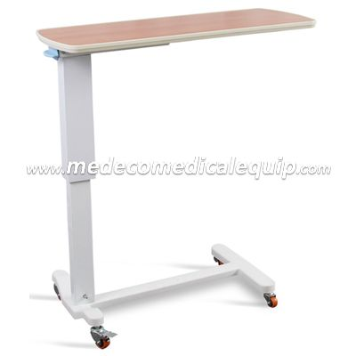 Hospital Folding Swivel Bed Tray Table With Wheel ME201-2