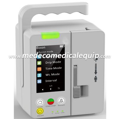 3.5 Inch LCD Touch Screen Infusion Pump ME-80